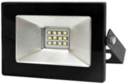Прожектор LED 10w 6500K IP65 800LM LEMANSO чорний/ LMP9-12 692303