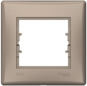 Schneider Sedna Рамка 1 пост IP44 Титан SDN5810568
