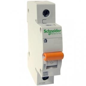 Автоматичний вимикач Schneider ВА63 1П 16A C 11203